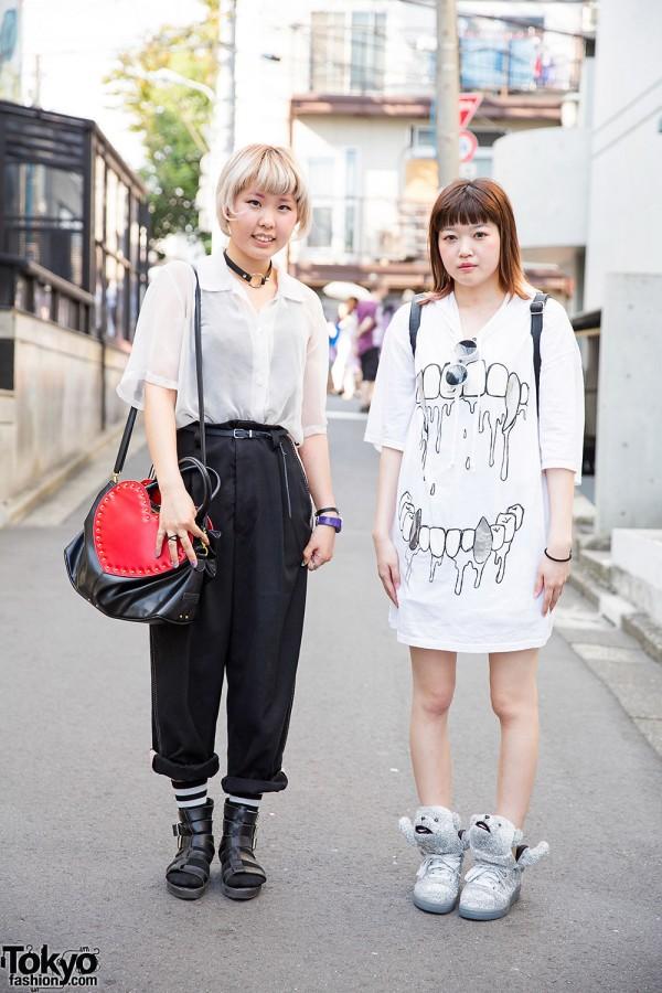 Harajuku Girls in Cream Soda, Monomania, Jeremy Scott & Anna Sui