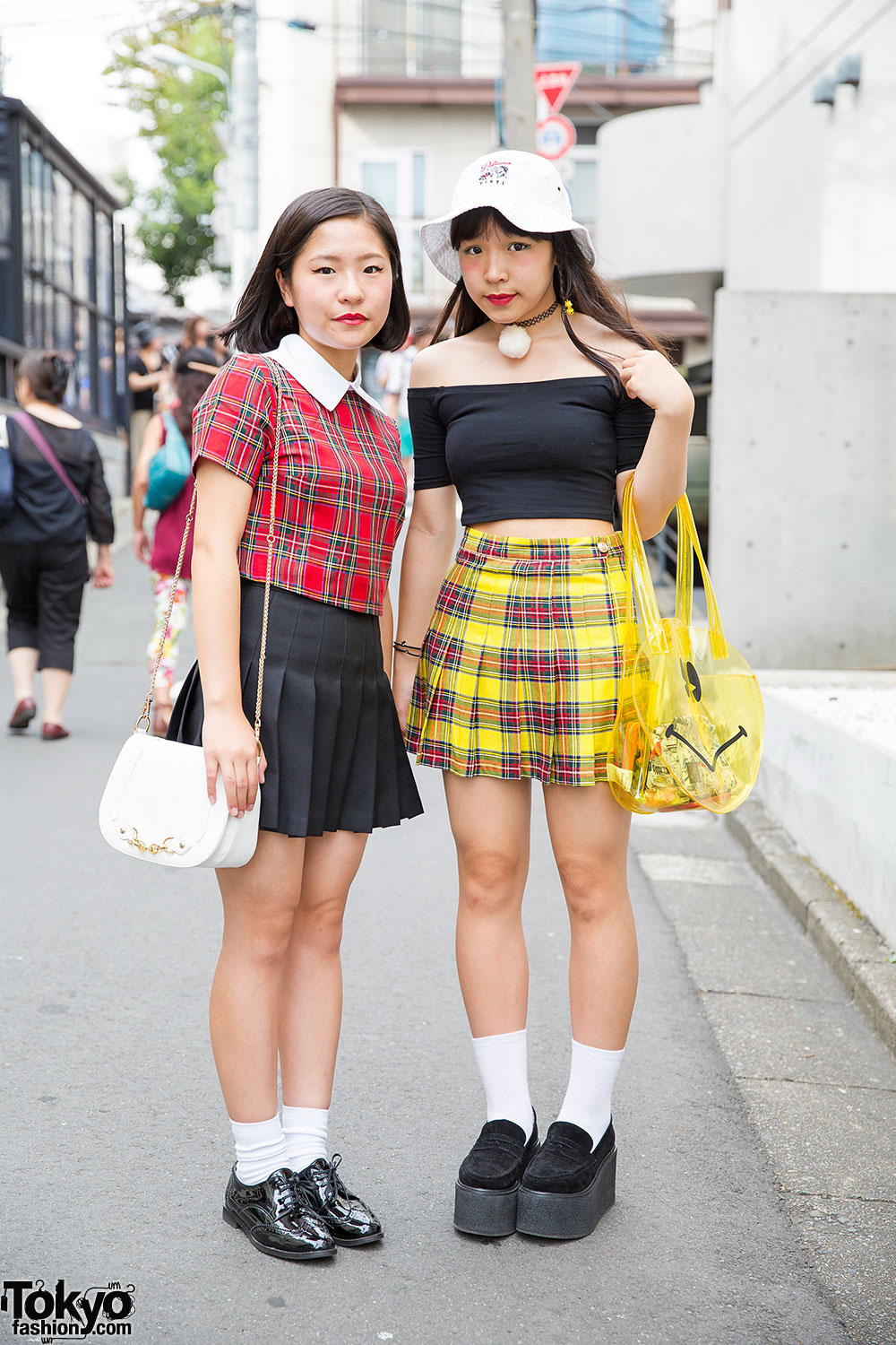 Pleated Skirts Plaid From Bubbles Harajuku Aymmy In The Batty Girls
