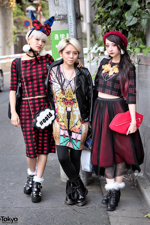 Tokyo Fashion Week Snaps W Heihei Funktique Rinrin Doll Elleanor Models Hachiko More