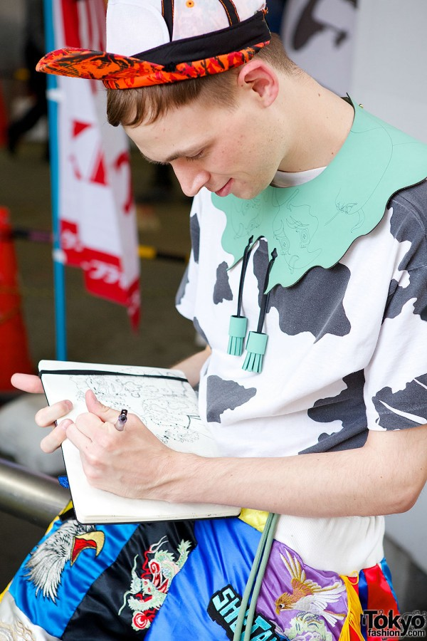 Lactose Intoler-Art – Street Style-Inspired Art & Fashion in Tokyo