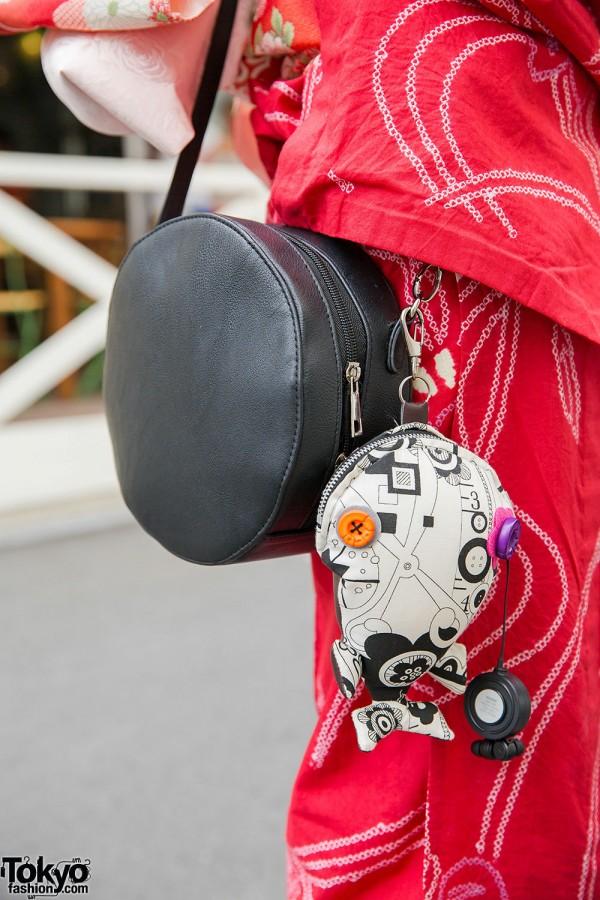 Round Bag & Fish Charm