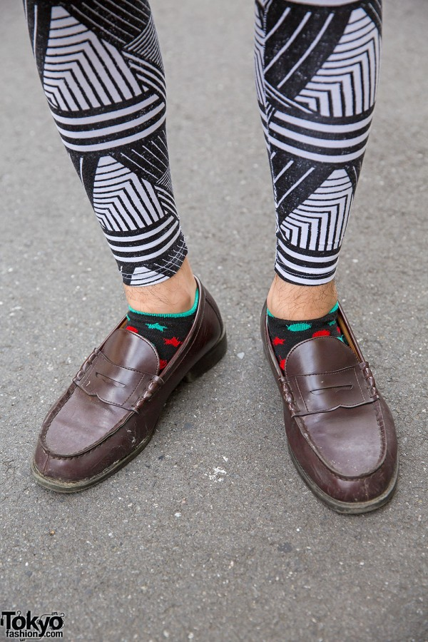 H&M Tights & Loafers