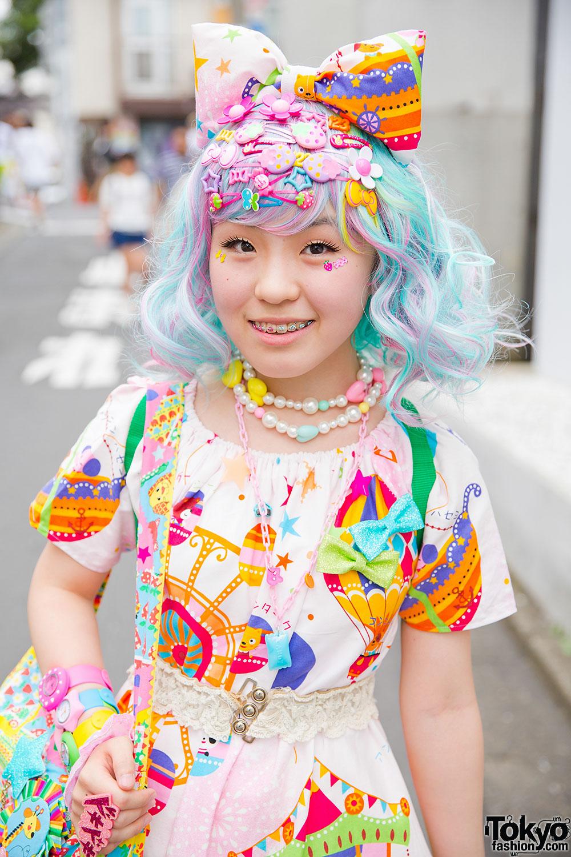Colorful Harajuku Decora Fashion W 6 Dokidoki Mikazuki