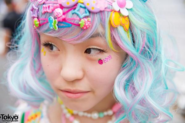 Pastel Hair & Hair Pins