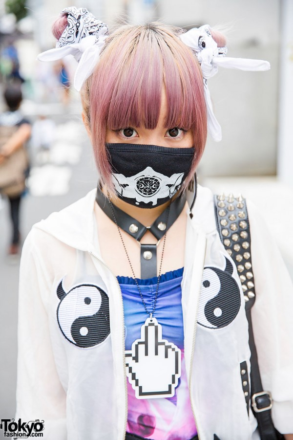Lilac Hair & Face Mask