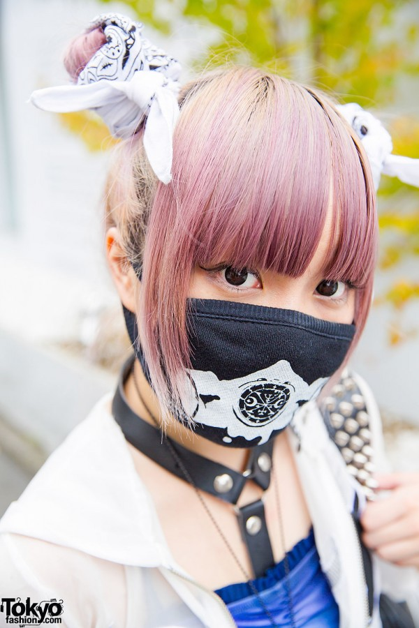 Lilac Twin Tails
