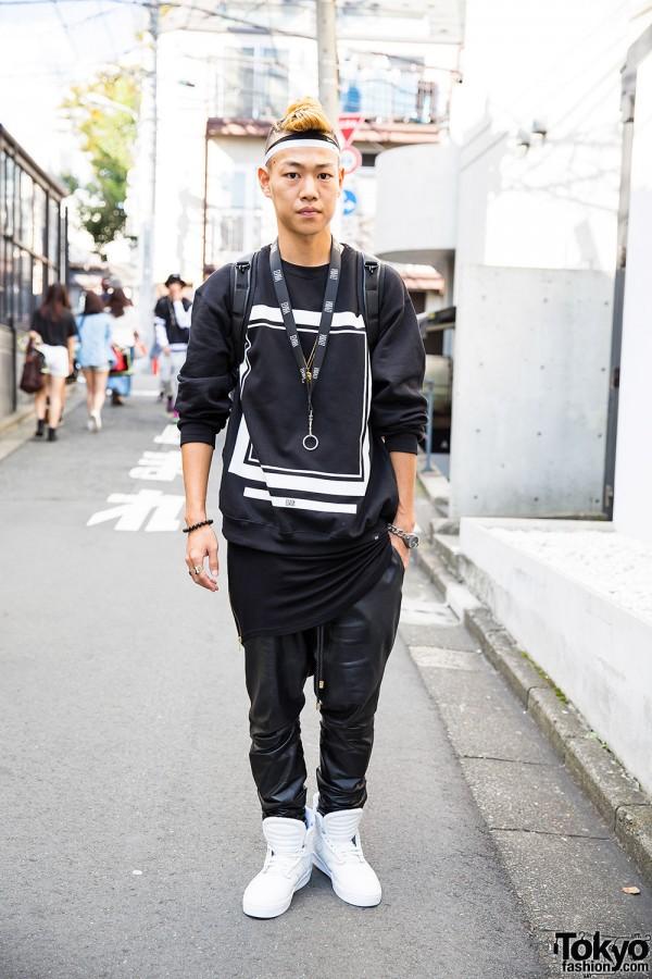 Nubian Harajuku Staffer w/ Elvira, Supra, ADYN & Florian Denicourt Streetwear