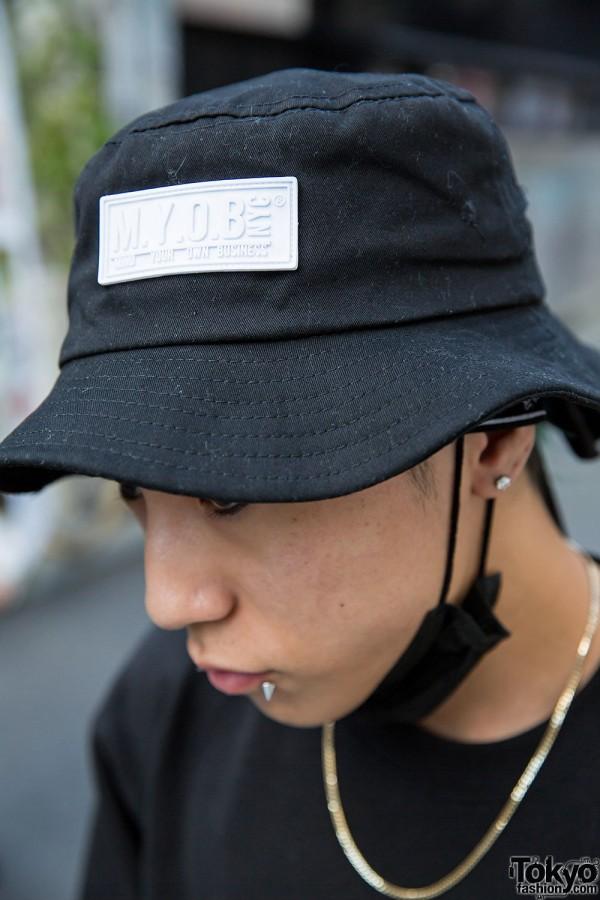 Harajuku Guy In M Y O B Nyc Oz Abstract Tokyo Amp Nike Fashion
