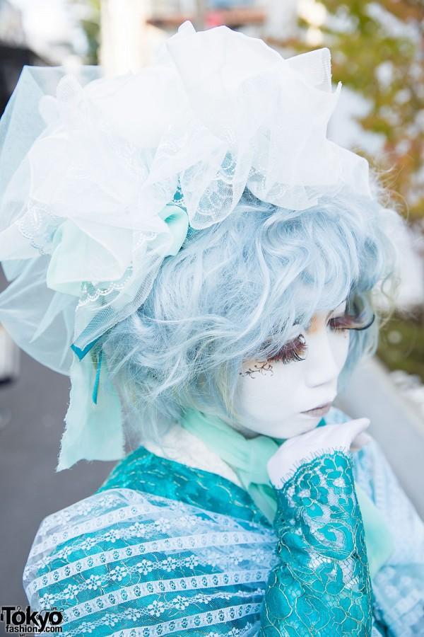 Blue Hair & Hair Accessories