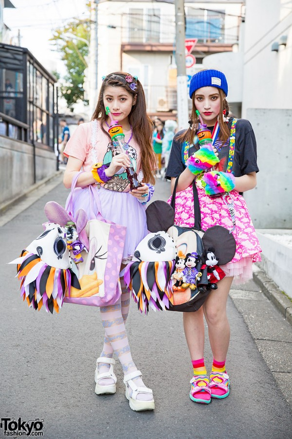 Harajuku Sisters w/ Disney Items, 6%DokiDoki, Candy Stripper, Nadia & WEGO