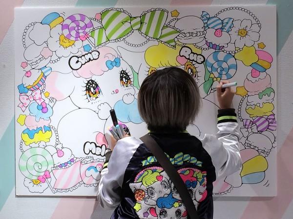 """Yurie Sekiya """"PeroPero Sparkles"""" Popup Shop & Live Drawing at Isetan Shinjuku"""