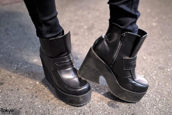 Spinns Platforms & Emoda Skinny Jeans
