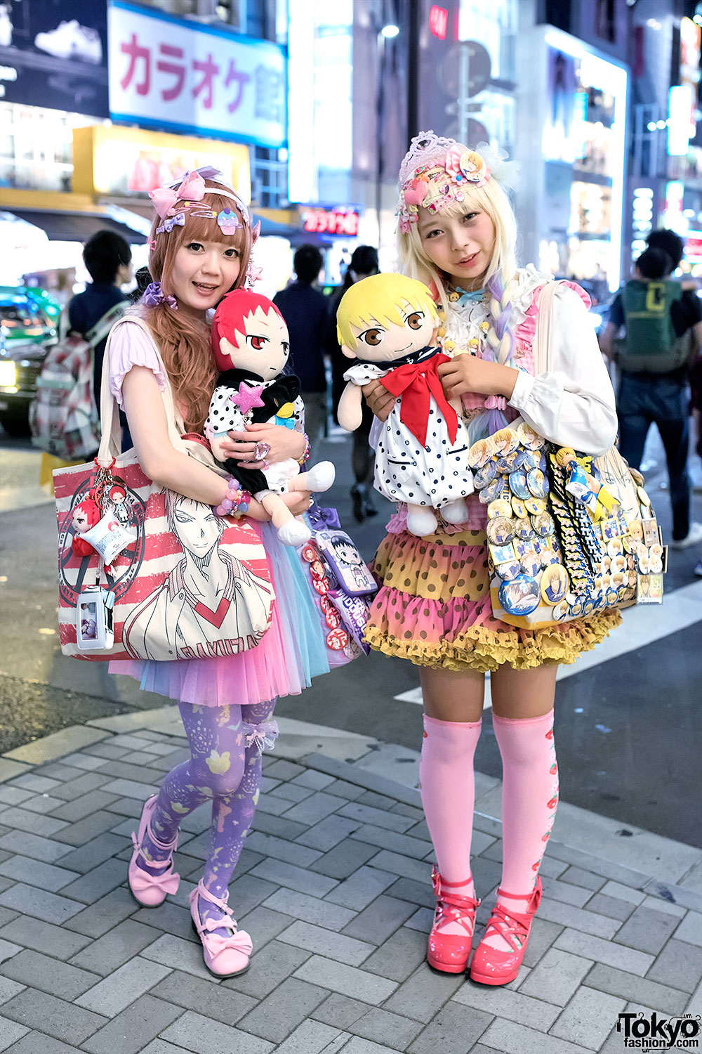 Harajuku Decora Girls W Kuroko S Basketball Goods Colorful Fashion