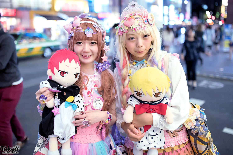 Harajuku Decora Girls W Kuroko S Basketball Goods Colorful Fashion