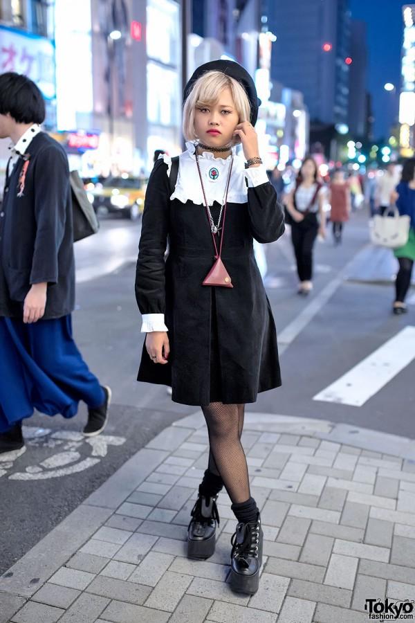 Pameo Pose Dress & Tokyo Bopper Platforms
