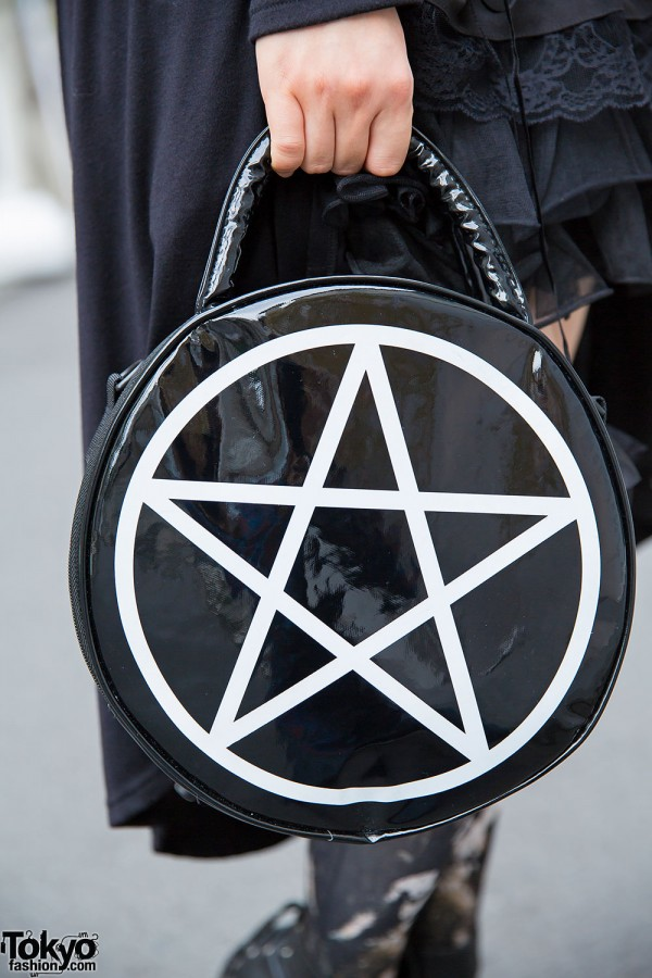 Kill Star Pentagram Bag