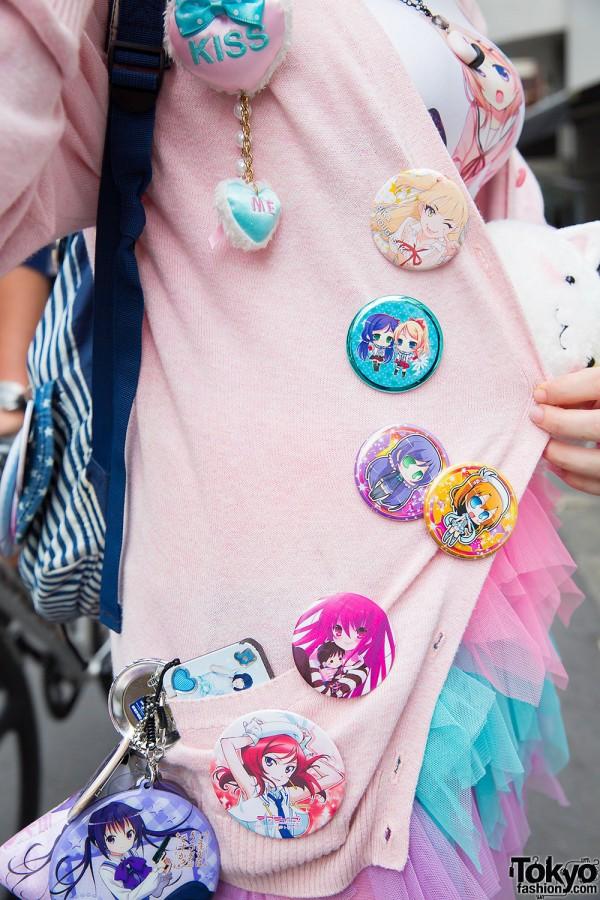 Anime & Manga Pins