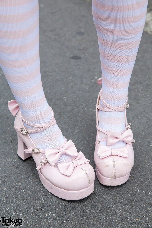 Bodyline Lolita Bow Shoes