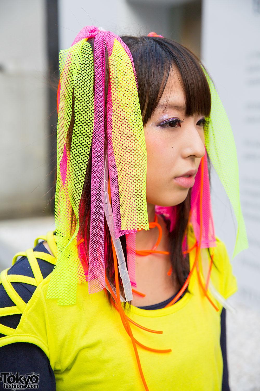 Harajuku Cyber Style w/ Pen & Lolly, CyberDog, Gas Mask