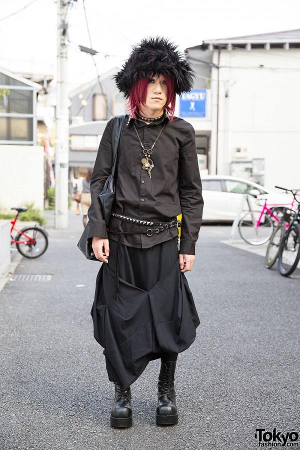 ankoROCK & SEX POT ReVeNGe Style + Steampunk Accessories in Harajuku