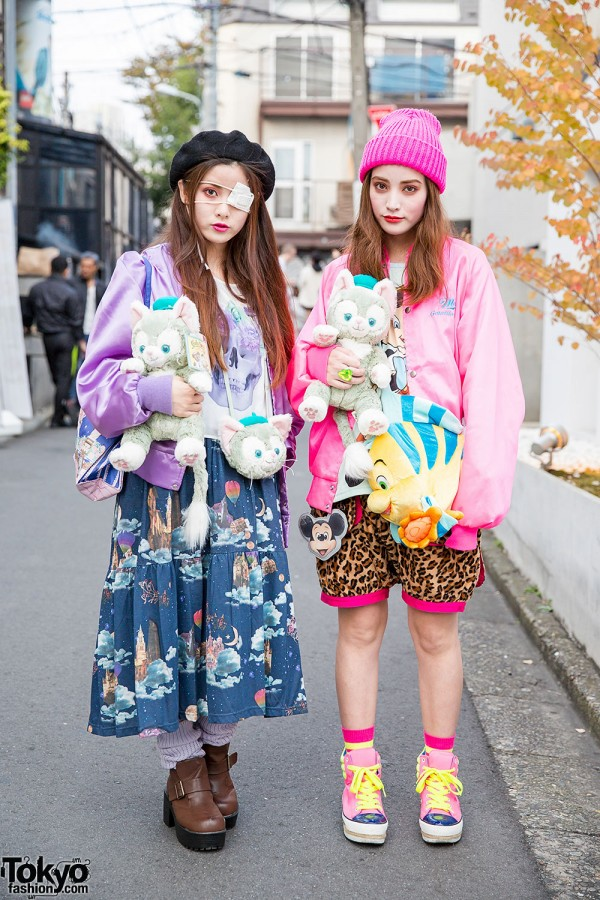 Harajuku Sisters w/ Plush Cats, Angelic Pretty, 6%DokiDoki & MalkoMalka