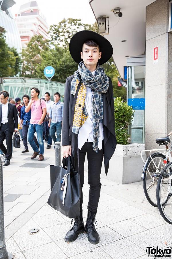 Harajuku Guy in Unplugged Jacket