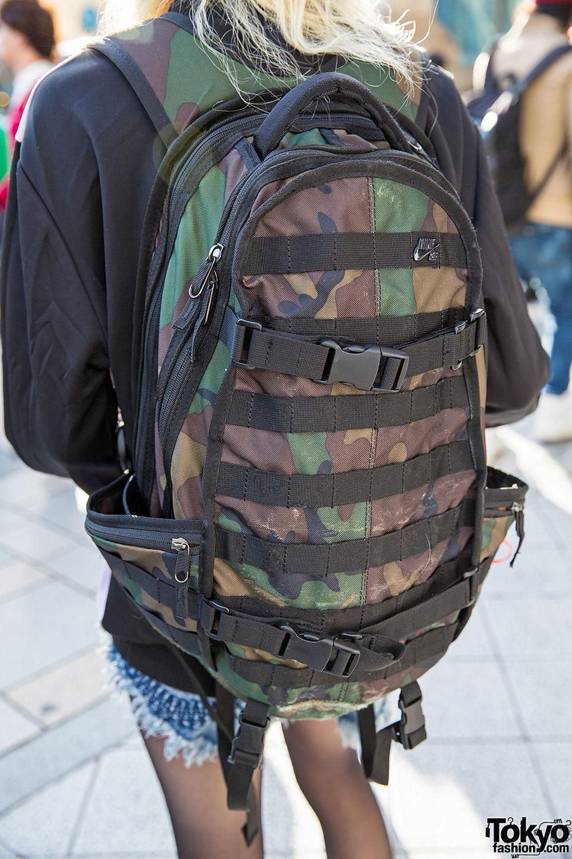 camo nike backpack