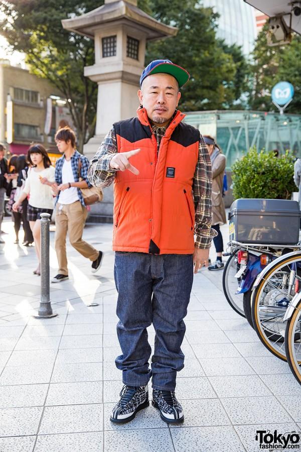 Japanese Photographer Yone in Harajuku w/ FourThirty, XLarge & Stussy