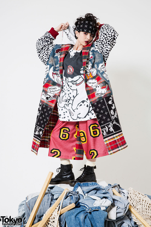 japanese heihei brand designer shohei kato street exhibition dalmatians scenes behind enlarge any tokyofashion