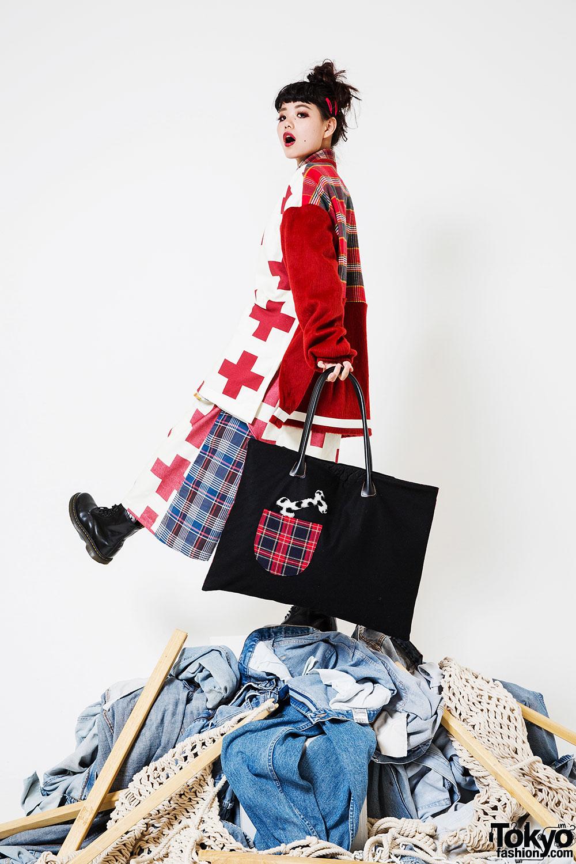 japanese heihei brand designer kato dalmatians scenes behind exhibition shohei tokyofashion tokyo enlarge any