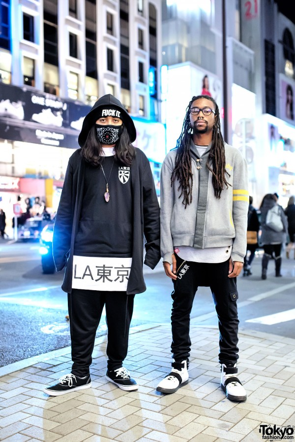 LATokyo Team in Harajuku w/ LATokyo, Organic AI, In4mation & Android Homme