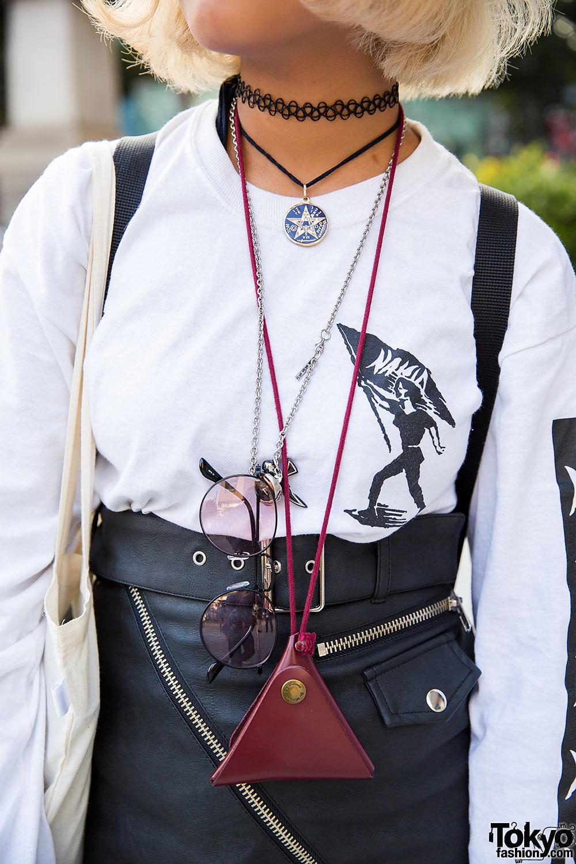Nakid X G V G V Top Unif Leather Skirt Amp Fjallraven