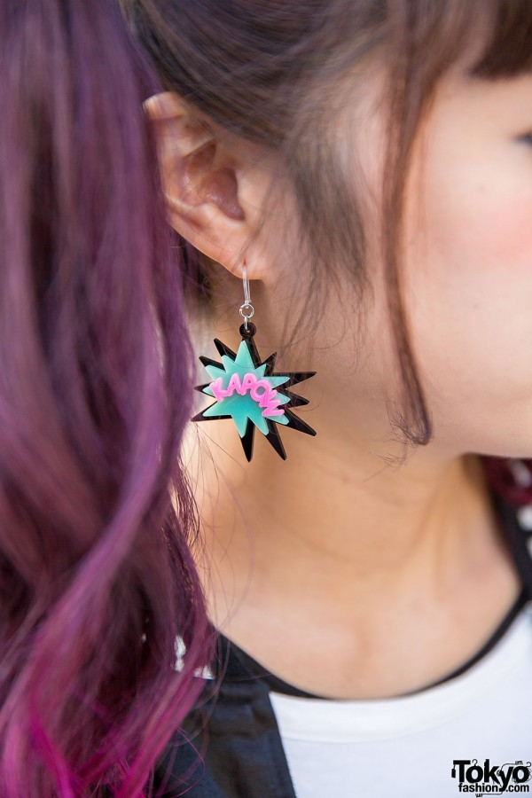 Claire's Comic Earrings