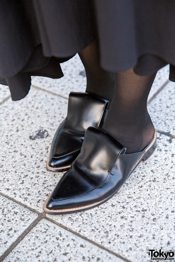 Y's Pointy Loafers