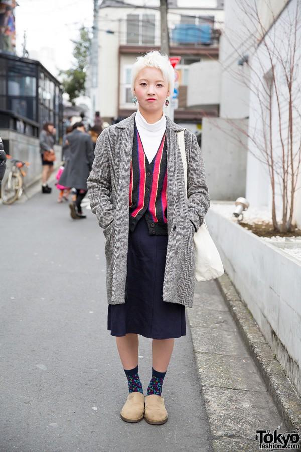 Lacoste Crocodile Earrings, Resale Fashion & Dr. Martens Clogs in Harajuku