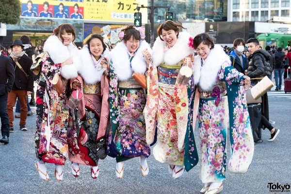 Coming Of Age Day in Japan Kimono (2)