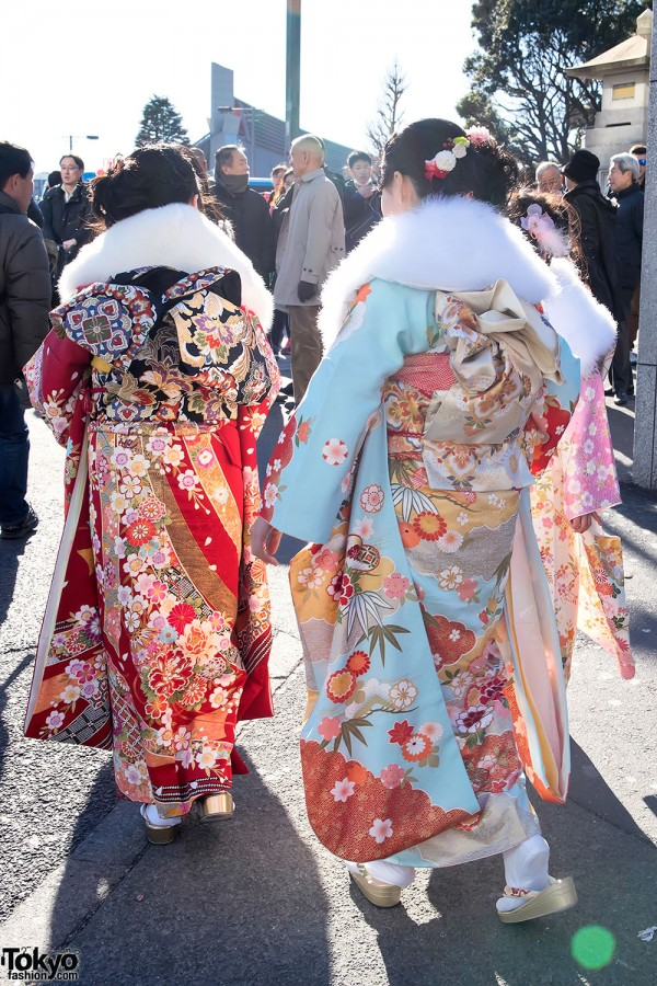 Coming Of Age Day in Japan Kimono (5)