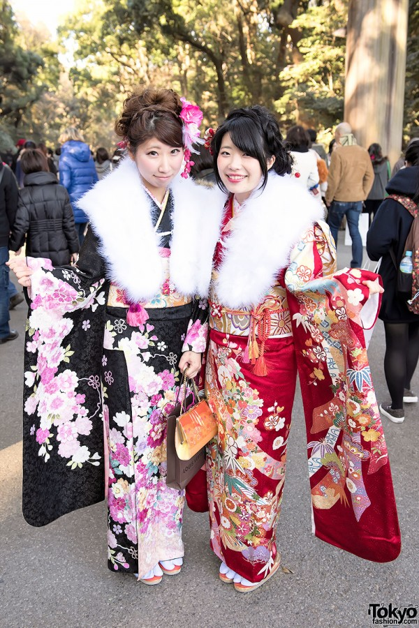 Coming Of Age Day in Japan Kimono (6)