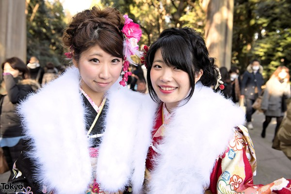 Coming Of Age Day in Japan Kimono (7)
