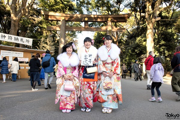 Coming Of Age Day in Japan Kimono (8)
