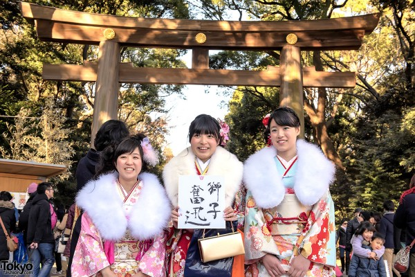Coming Of Age Day in Japan Kimono (9)