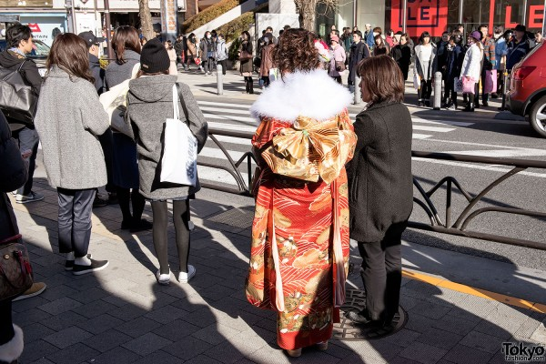 Coming Of Age Day in Japan Kimono (11)