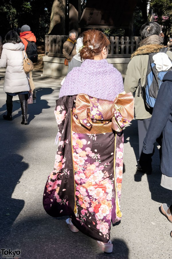 Coming Of Age Day in Japan Kimono (14)