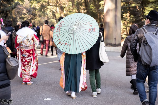 Coming Of Age Day in Japan Kimono (15)