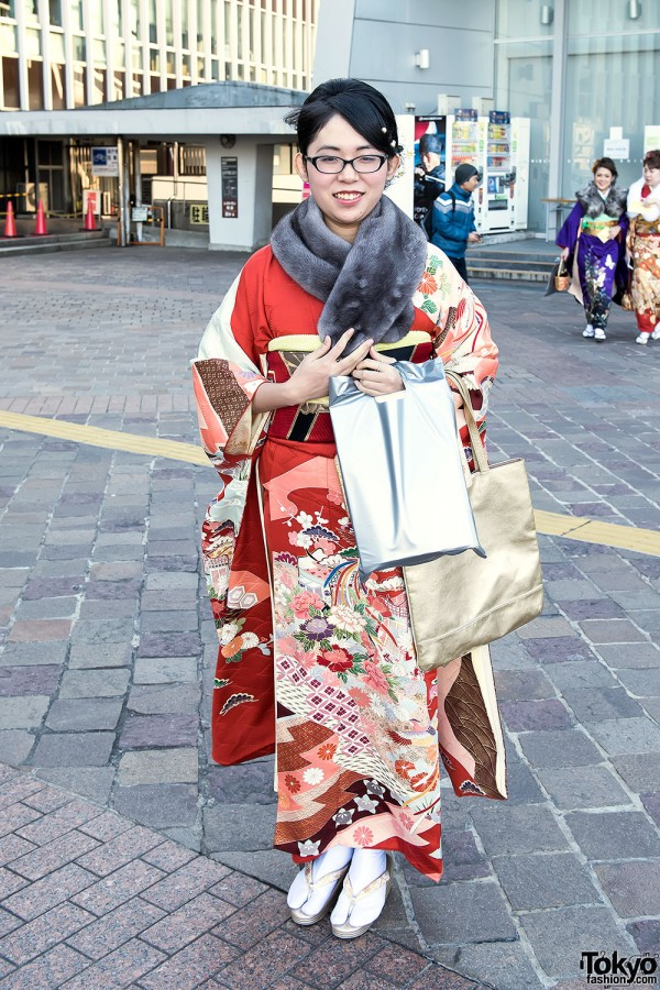 Coming Of Age Day in Japan Kimono (25)