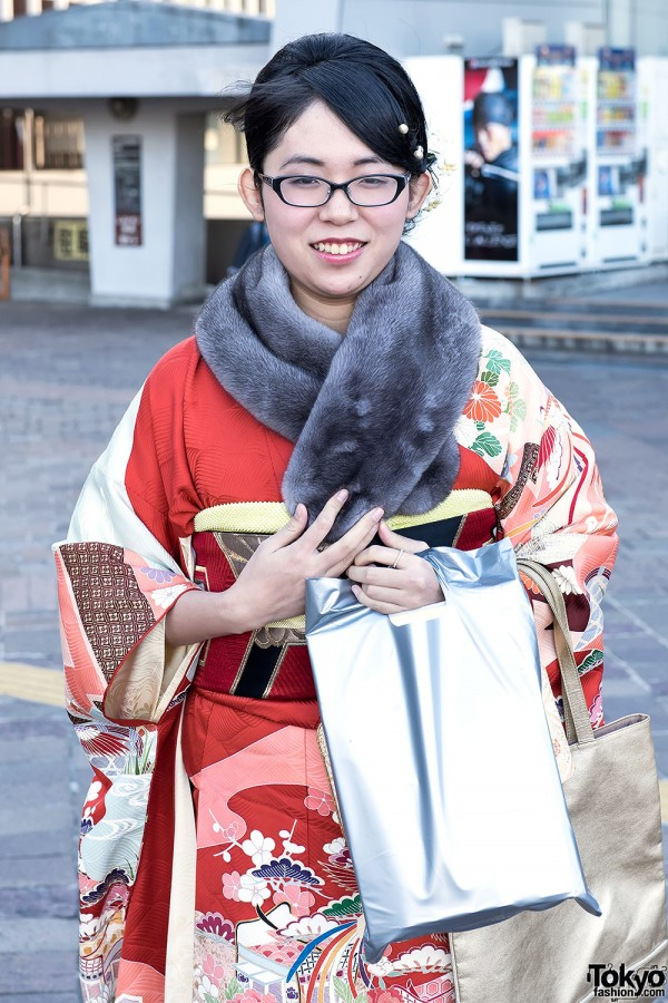 Coming Of Age Day in Japan Kimono (26)