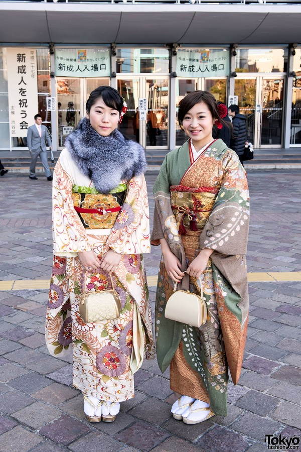 Coming Of Age Day in Japan Kimono (28)