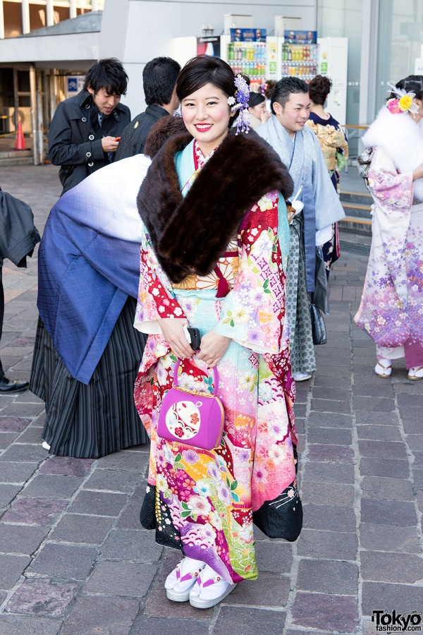 Coming Of Age Day in Japan Kimono (30)
