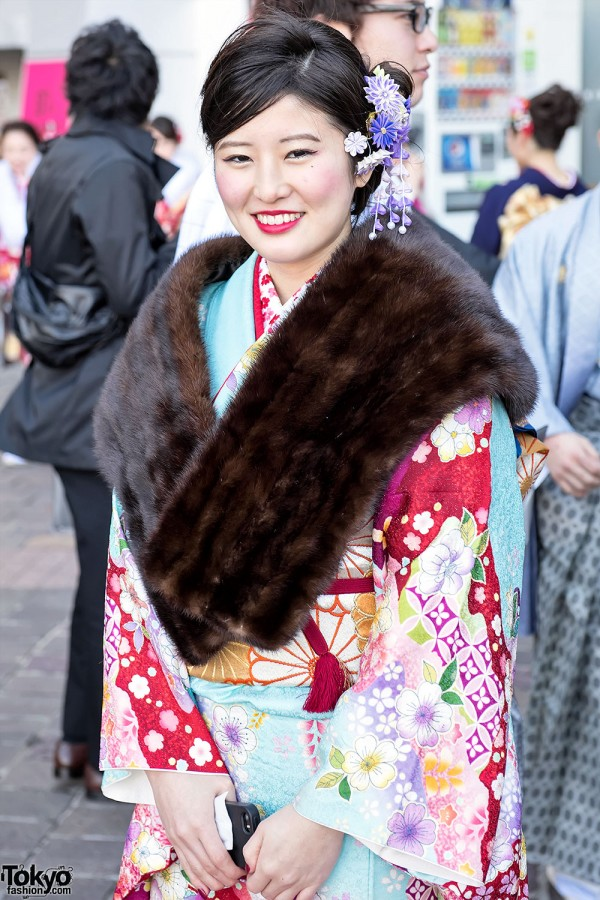 Coming Of Age Day in Japan Kimono (31)