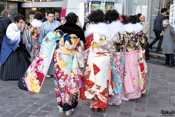Coming Of Age Day in Japan Kimono (32)